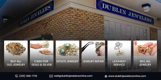 Buy and sell jewelry at dublin jewelers in lansdale