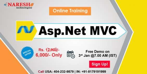Asp dot net mvc online training