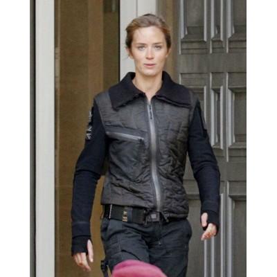 Edge of tomorrow emily blunt leather jacket