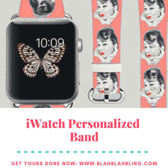 Iwatch personalized band