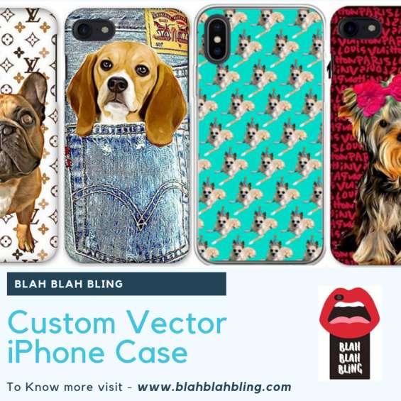 Custom vector iphone case