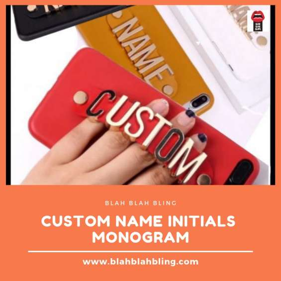 Custom name initials monogram