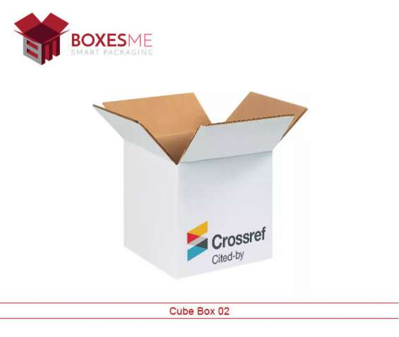 We provide high-quality custom cube boxes