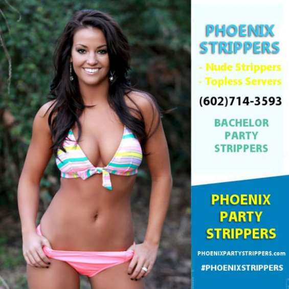 Plan the ultimate bachelor party in phoenix az!  our beautiful strippers &  topless bartenders are available for your bachelor party!  phoenix party strippers  (602)714-3593  http://phoenixpartystrippers.com