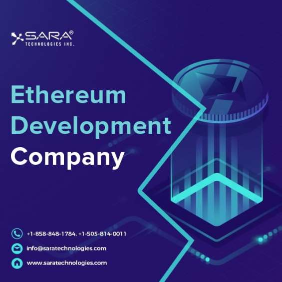 Ethereum app development company | services - sara technologies