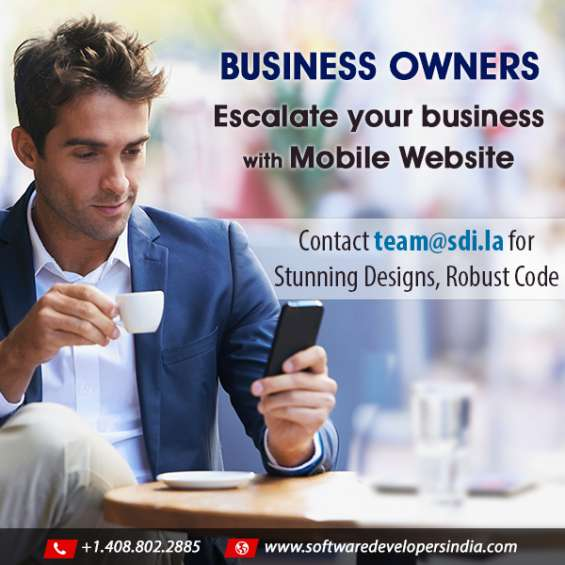 Mobile website development by silicon valley experts