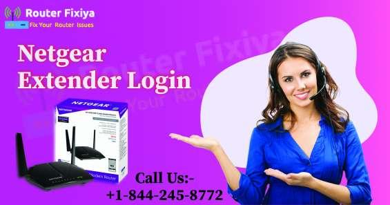 Netgear extender login | +1-844-245-8772