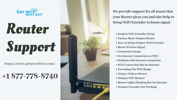 Router support – dial 1-877-778-8740 for instant solution