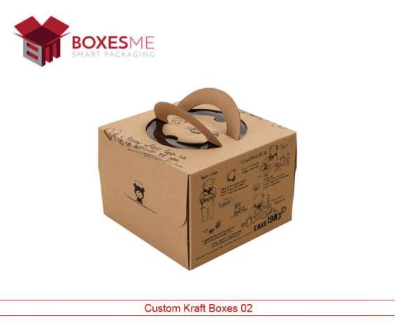 Get trendy custom kraft boxes for christmas sale