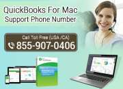 Quickbooks for mac support phone number 855-9o7-o4o6