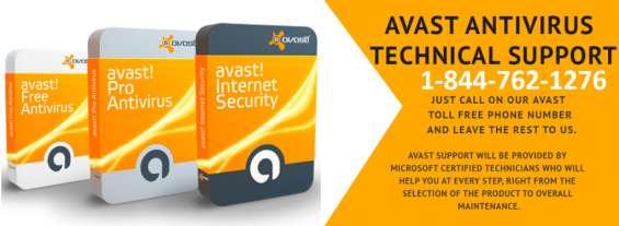 Avast antivirus support number   1-844-762-1276   helpline