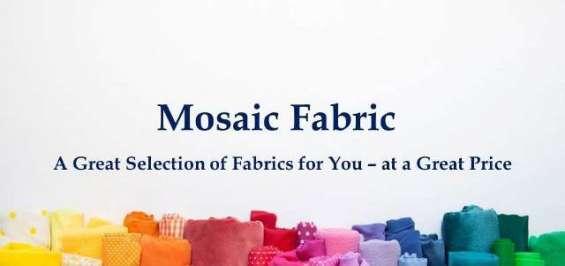 Mosaic fabrics, best online fabric store