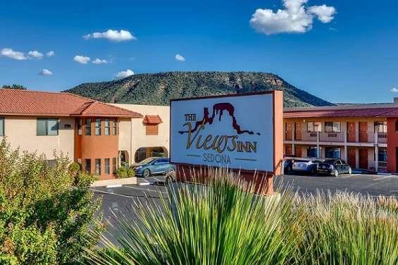 Budget friendly hotel offers room in sedona, az   the views inn