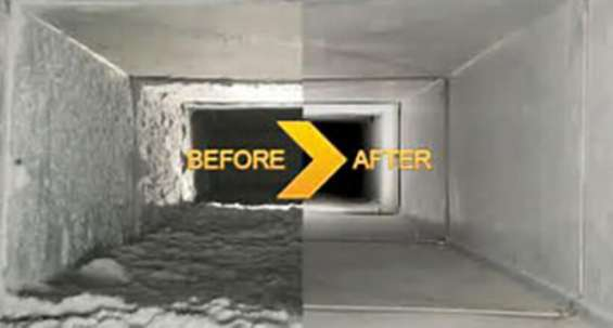 Clean up ducts from air duct cleaning north miami