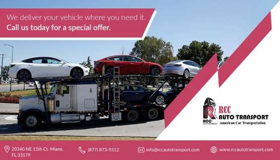 Reliable car shipping company florida usa - rcc auto transport