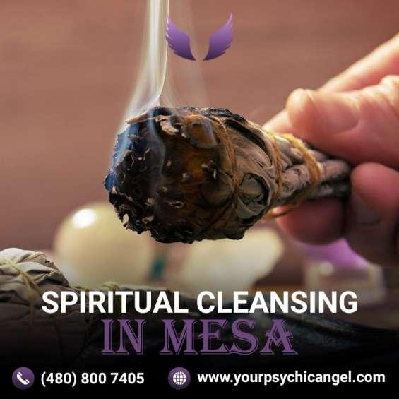 Spiritual cleansing in mesa