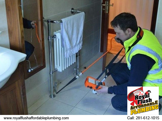 Get best water leak detection service from royal flush affordable plumbing