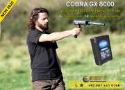 Cobra gx 8000 new metal detector – 6 search systems
