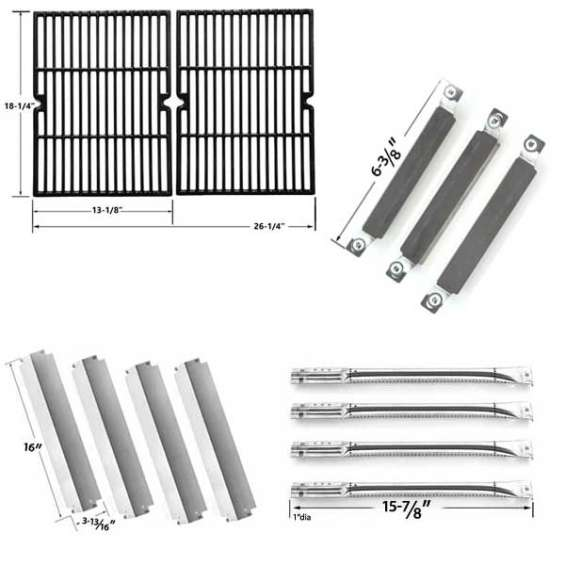 Charbroil-commercial-463268007-gas-grill-repair-kit-includes-4-stainless-heat-plates-4-stainless-steel-burners-1