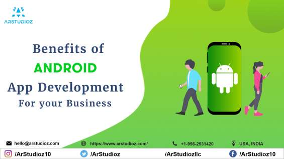 Hire the best android app development company-arstudioz!