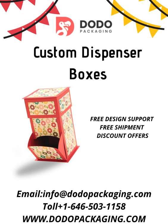 Durable dispenser boxes | custom dispenser boxes