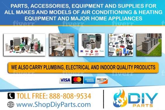 Air conditioning & heating and major home appliance parts