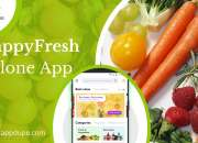 Happyfresh clone app: A Convenient app for your grocery needs