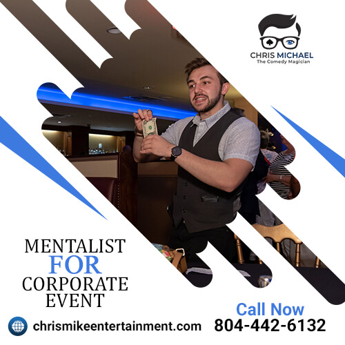 The top best mentalist for corporate event.