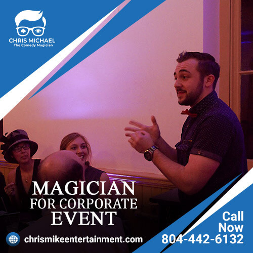 The top best magician for corporate event