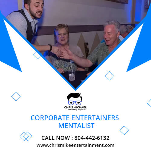 The top best corporate entertainers mentalist