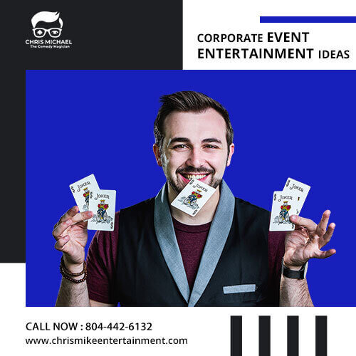 The top best corporate event entertainment ideas