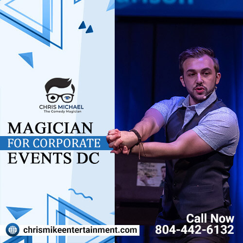 The top best magician for corporate events dc.