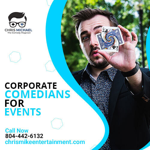 The top best corporate comedians for events.