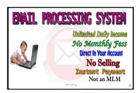 Email processing system ... daily income