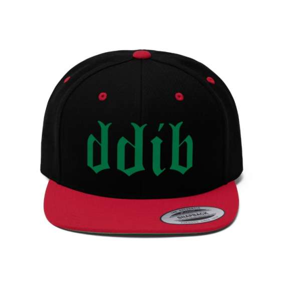 Green ddib logo lid cap or hat