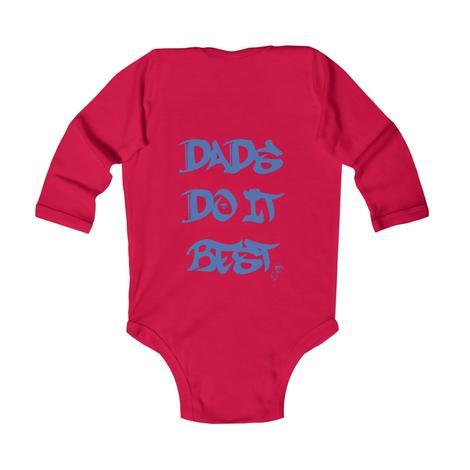 Ddib infant red baby bodysuit