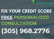Miami credit repair services, bad credit clean up