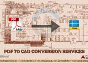 PDF to CAD Conversion   Paper to CAD Conversion Services