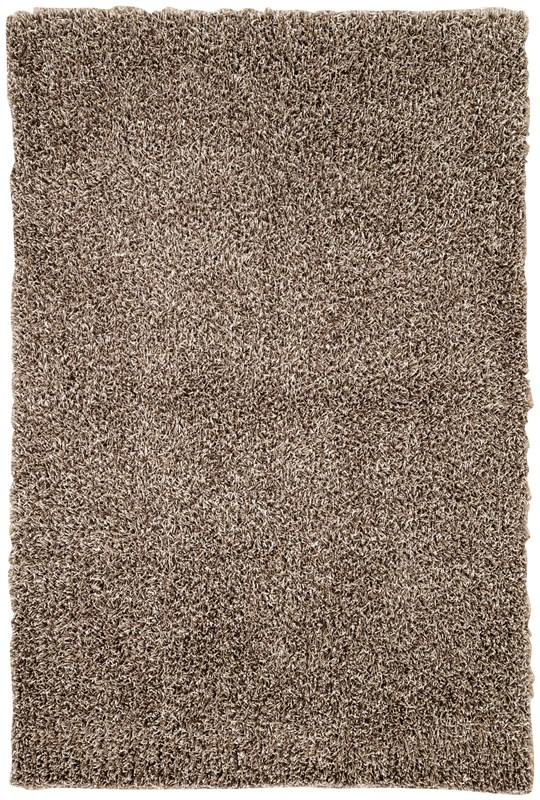Jaipur living flux solid brown area rug