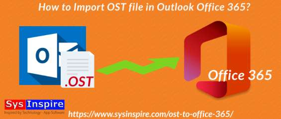 Import ost file in outlook office 365
