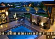 Outdoor Lighting Design and Installation Services in Tampa FL