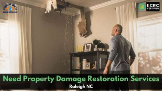 Need property damage restoration services in raleigh nc?