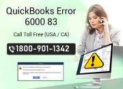 Get quickbooks error code 6000 83 solution