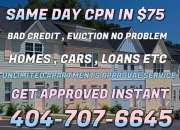 Eviction Second Chance Apartment CPN NUMBER NATIONWIDE Available