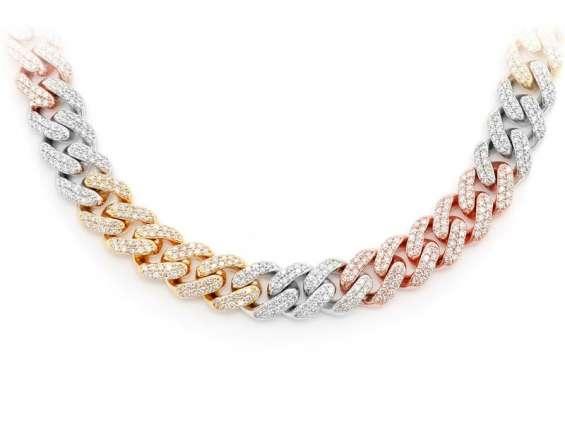 Diamond necklace for men online