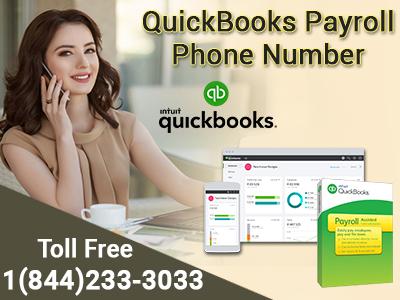 +1(844)233-3033 quickbooks payroll phone number