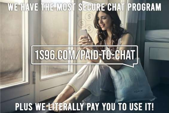 Incredible app: chat securely and get paid for usual chatting!? -san francisco