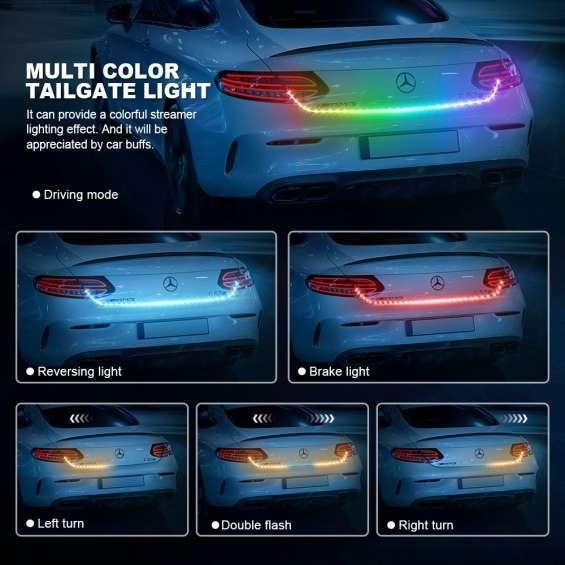 Million color tailgate light bars