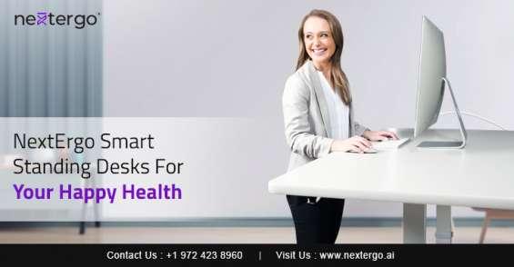 Nextergo smart standing desks for your happy health