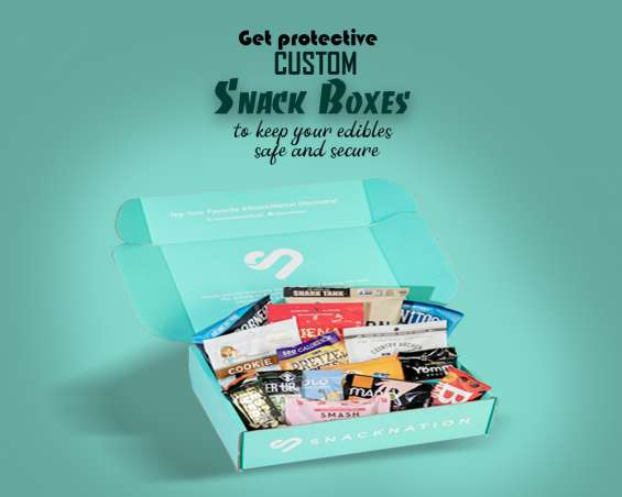Keep your snack's special in custom snack boxes